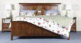 Кровати твердой деревянной кровати самомоднейшие двойные (M-X2253)
