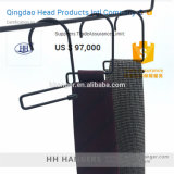 Percha del lazo de la bufanda del alambre de metal de la manera, percha del metal para la visualización de la bufanda