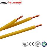 Certificação CE H07V-U prédio isolado PVC fios eléctricos de cobre do fio BV