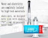 Sistema de la calefacción por agua del grifo de la cocina con el indicador digital