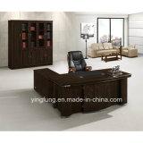 Büro-Möbel-Luxuxbüro-hölzerner vollziehendschreibtisch Yf-2878