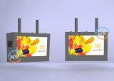 Le support noir IP65 de mur de 32 pouces imperméabilisent l'affichage à cristaux liquides extérieur annonçant le joueur de TV (MW-321OB)