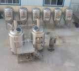 Equipamento preto da fabricação de cerveja de cerveja/tanque de aço inoxidável