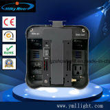 Свет РАВЕНСТВА батареи RGBW 4in1 или 6in1 СИД DMX плоский, беспроволочное эксплуатируемое РАВЕНСТВО силы может осветить