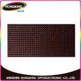Один цвет реклама светодиодный дисплей для использования вне помещений водонепроницаемый P10 красный светодиодный модуль