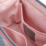 Sacchetto impermeabile dell'estetica di promozione del sacchetto di trucco della tela di canapa
