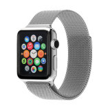 Stainless Steel Mesh Loop Magnetic Milanese Watch Strap for APPLE