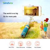 Mini Selfie Dobrável portátil Stick Wired Monopod tripé para a Huawei P9