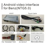 Interfaccia di percorso Android dell'automobile video per benz C Cla Clk B un percorso WiFi BT Mirrorlink di tocco di aggiornamento di Ntg 5.0 di cromatografia gaseoliquido di E