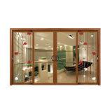 Отличное качество китайского стиля сдвижной двери с решеткой