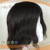 Het volledige Toupetje van het Menselijke Haar van de Grens van de Rand van het Kant Pu (pPG-l-01882)
