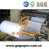 Papier de reçu en espèces de courant ascendant de la qualité 57mm en roulis enorme