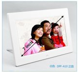 800*480 해결책을%s 가진 백색 까만 프레임 7 인치 TFT LCD 디지털 사진 프레임