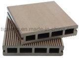 Placa ao ar livre de pouco peso do Decking da cavidade WPC da Fácil-Instalação da boa qualidade