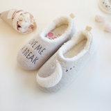 Ботинки луны крытых ботинок женщин противоюзовые теплые