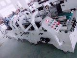 (Gk- 780BA) previa al plegador 90 grados de plegar la máquina de encolado