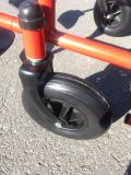 Billig faltend, Stahl, manueller Rollstuhl