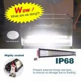 Comercio al por mayor 744W Offroad CURVO 42pulgadas cree automática de 4 filas de la barra de luz LED con soporte de montaje