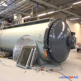 autoclave de goma industrial de Vulcanizating del control completamente automático del PLC de 1500X3000m m