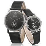 Le couple chaud de vente de promotion observe la montre-bracelet de dames de mode (WY-1074D)