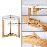 거실을%s 작은 현대와 간단한 둥근 대나무 테이블