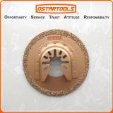 la herramienta de corte circular oscilante de la arena del carburo de 64m m (2-1/2 '') vio la lámina