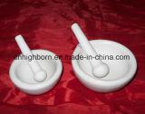 Crogiolo di ceramica dell'allumina quadrata refrattaria per la fornace