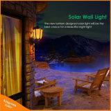 屋外のダンス夜ライト太陽LED壁ライト明滅の炎ランプ