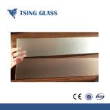 Закаленное стекло Sandblasted кислоты на спицах зубчатых шкивов из закаленного стекла для жалюзи/шельфа/поручни/лестницы