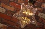 Festival en forma de estrella S150 de la Decoración Vintage Edison bombillas de fuegos artificiales de luz