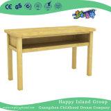 Le mobilie di asilo scherza gli insiemi di legno della presidenza e della Tabella con il doppio scrittorio (HG-3802)