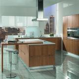 Fabricación de China de la cabina de cocina de madera sólida/Lacquer/PVC/MFC de la alta calidad de Ritz