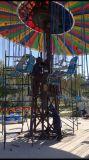 安い現代公園の娯楽は販売のための運動場の飛行の椅子に乗る