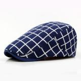 Chapéu Checkered colorido da boina do algodão com projeto de Customed