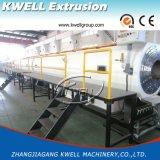 Conduite d'eau faisant la machine, ligne en plastique d'extrusion de pipe du HDPE PPR