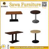 판매를 위한 여가 테이블 대중음식점 테이블 커피용 탁자