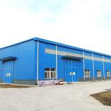 Los paneles sándwich de acero de color prefabricados / construcción prefabricados