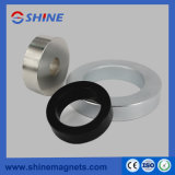 Material do magneto NdFeB Anel de zinco de revestimento