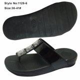 Мода клин женщин шлепанцы, EVA увеличение высоты обувь с PU верхний