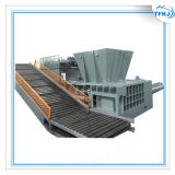 Ligne de production complet 400t hydraulique automatique Machine de mise en balles d'aluminium des déchets