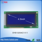 "4.3 "" Blue Graphic COB Standard LCD Panel with LED Backlight"