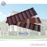 Сопротивление ветра простой конструкции с покрытием из камня металлические Milano миниатюры на крыше