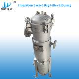 液体のステンレス鋼のバッグフィルタハウジング(クランプ、フランジ)
