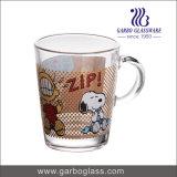 Cuvette de thé de configuration de losange et tasse de café