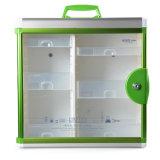 Grande casella della cassetta di pronto soccorso del metallo di formato con la serratura di tasto di sicurezza