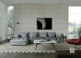 Sofá de couro mobiliário sofá de casa D-72