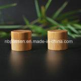 Jarra de acrílico com bambu para embalagem de cosméticos (PPC-BS-003)