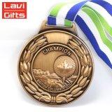 Venta caliente de la medalla de graduación de atletismo de alta calidad