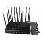 Último parado de aislamiento de la señal de teléfono móvil; 2G, 3G, 4G, GPS, WiFi, VHF, UHF, 315, 433, Lojack Jammer señal