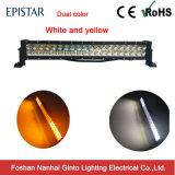 Barra ligera ambarina y blanca del LED para campo a través